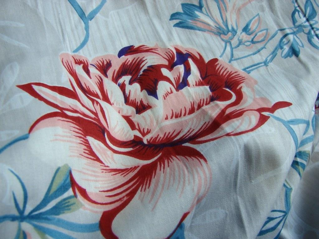 Постельное белье голубые розы фото 3
