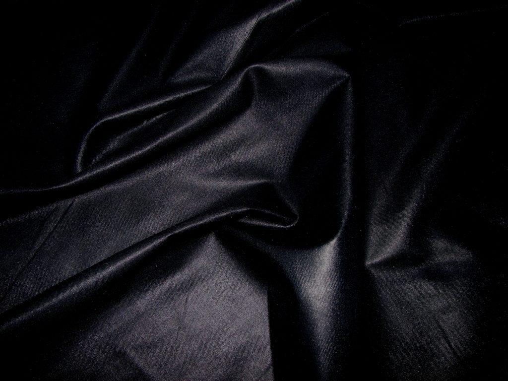 Постельное белье черное однотонное